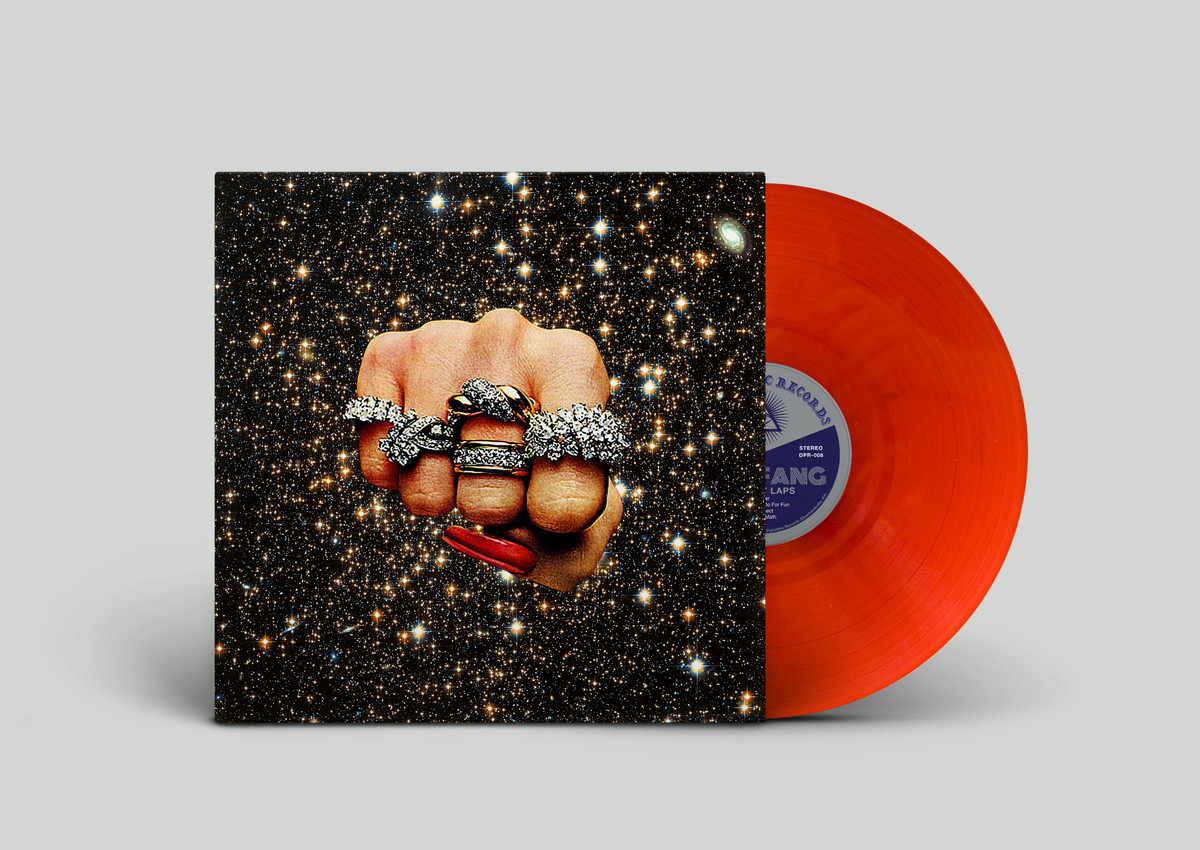 Image of VICTORY LAPS - LIMITED EDITION TRANSPARENT RED VINYL
