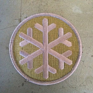 Image of Crosshair Snowflake Patch