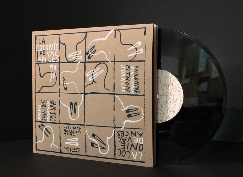 Image of Livre/disque 'La Colonie de Vacances'