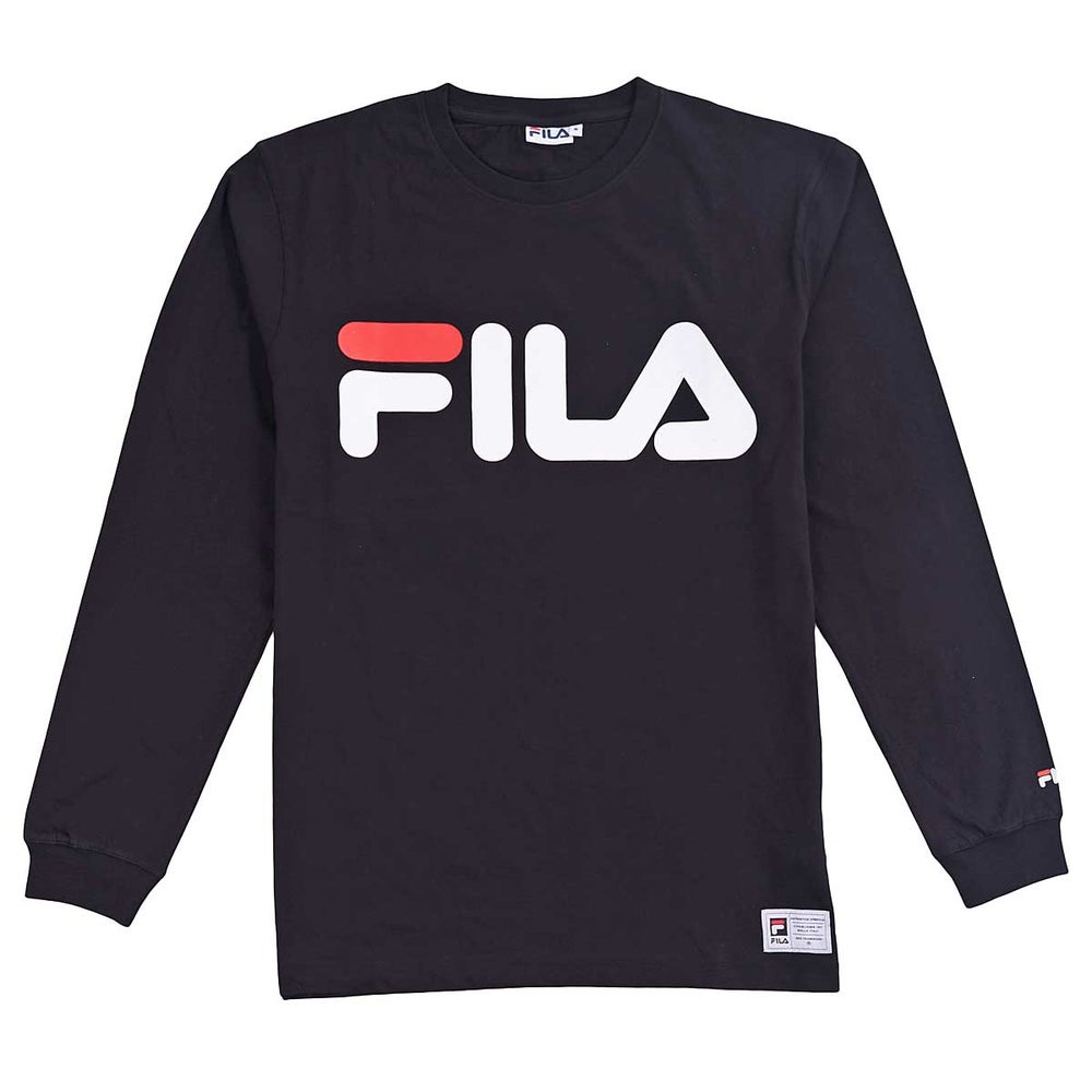 Image of Fila Basic Longsleeve Tshirt Black