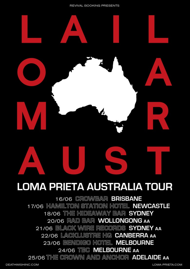 Image of Loma Prieta @ The Crown & Anchor, Adelaide