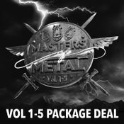 Image of MASTERS OF METAL [5 CD Package Deal] FREE SHIPPING WORLDWIDE