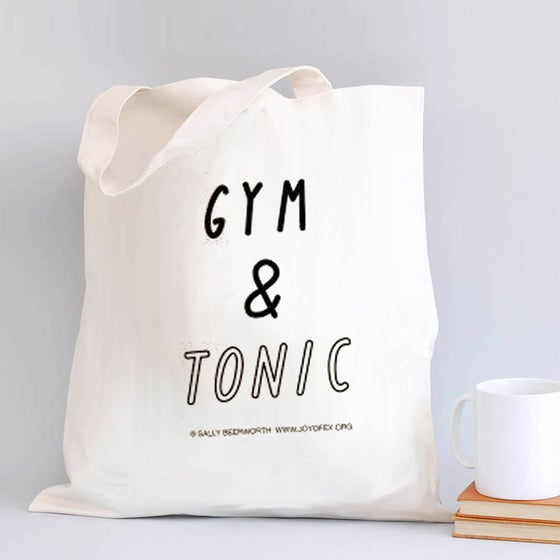 Image of Gym & Tonic Tote Bag