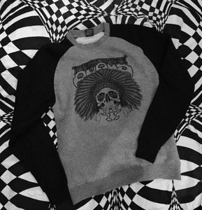 "Image of SUPER CHIEF  ""CLASSIC RE ISSUE CREW CUT SWEAT SHIRT"""