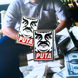 Image of PUTA enamel pin