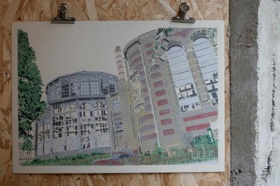 Image of Lille-Palais Rameau-couleurs-papier ivoire