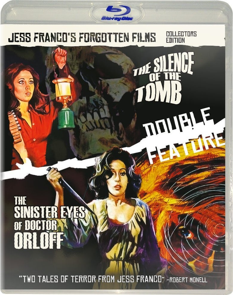 Image of JESS FRANCO'S FORGOTTEN FILMS Vol. 1 - THE SILENCE OF THE TOMB/THE SINISTER EYES OF DR ORLOFF