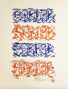 "Image of Serigraphy ""4 barrel"""