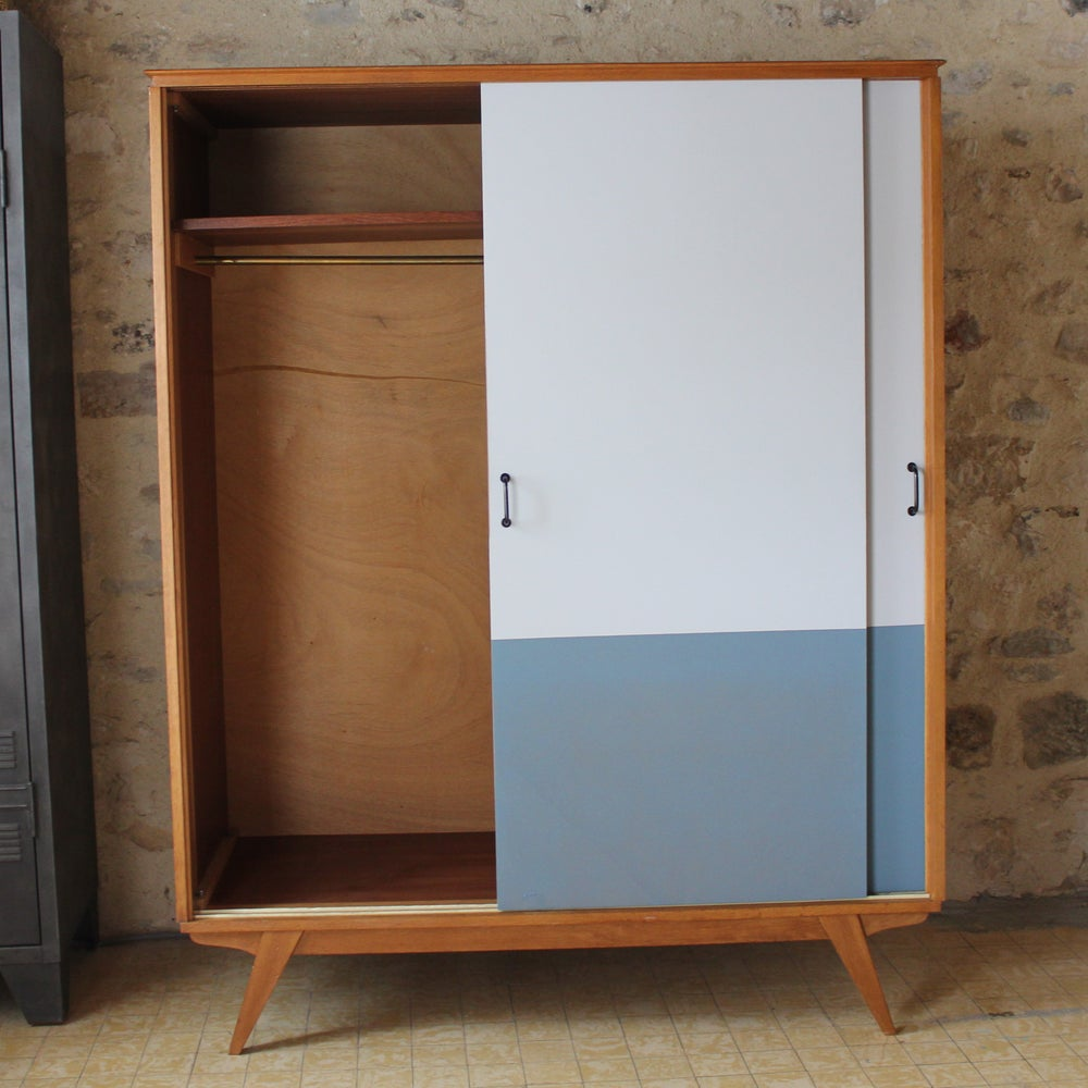 Image of Armoire dressing - années 60/70