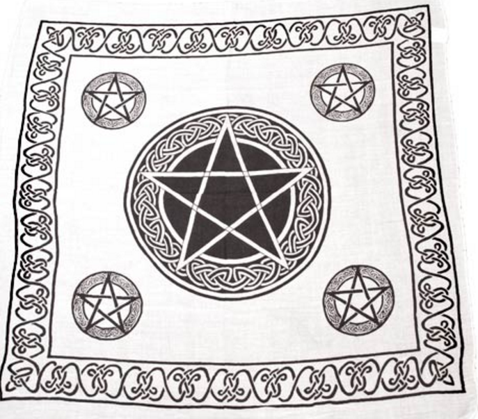 Image of Pentacle Altar Cloth