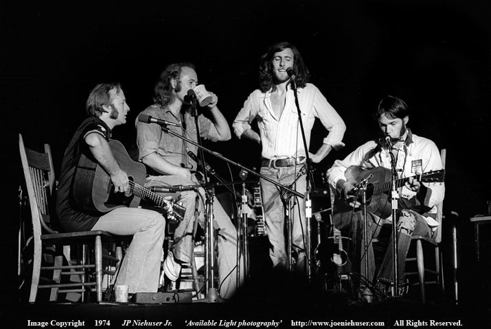 Image of Original 1974 Crosby, Stills, Nash & Young Limited Edition Fine Art Print