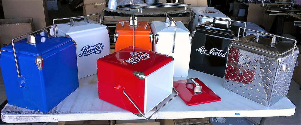 Image of BACK AGAIN! VINTAGE RETRO STYLE COOLERS
