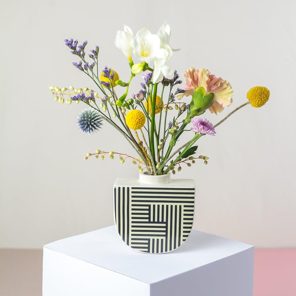 Image of Lines Boat Vase