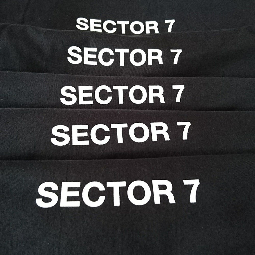 Image of Sector 7 T-Shirt [Black/White]