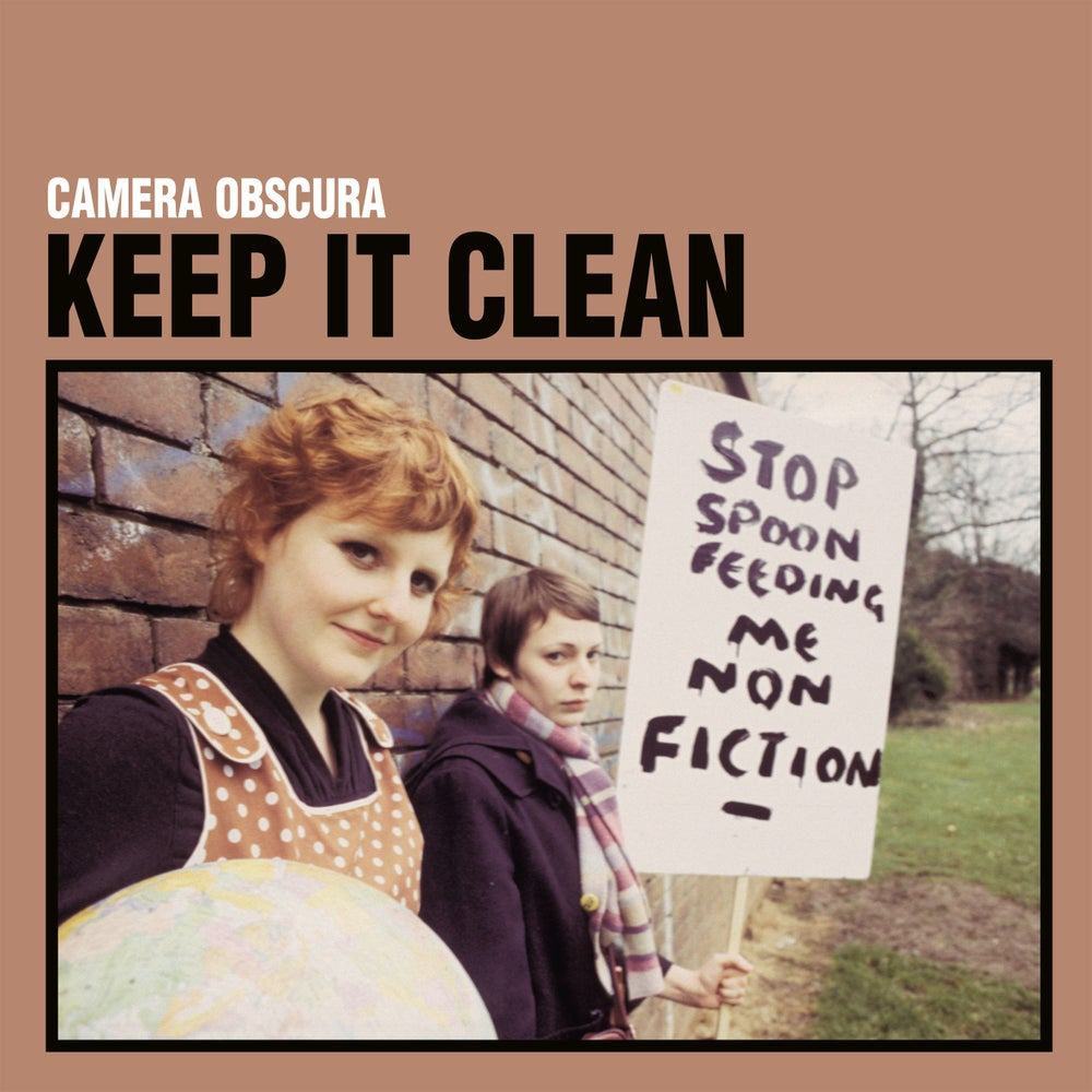 """Image of CAMERA OBSCURA - Keep It Clean (Ltd Edition clear 7"""" Elefant 25th Anniversary Collection)"""