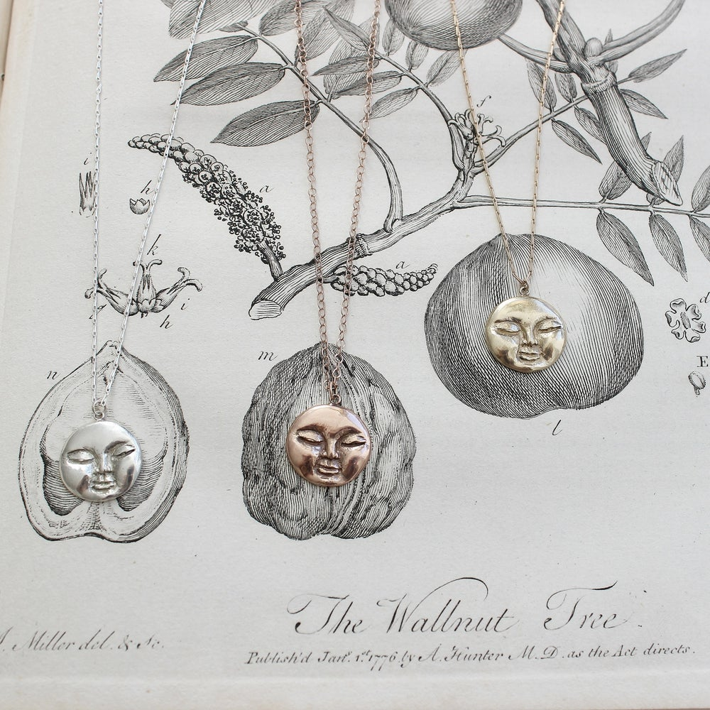 Image of *NEW* full moon necklace