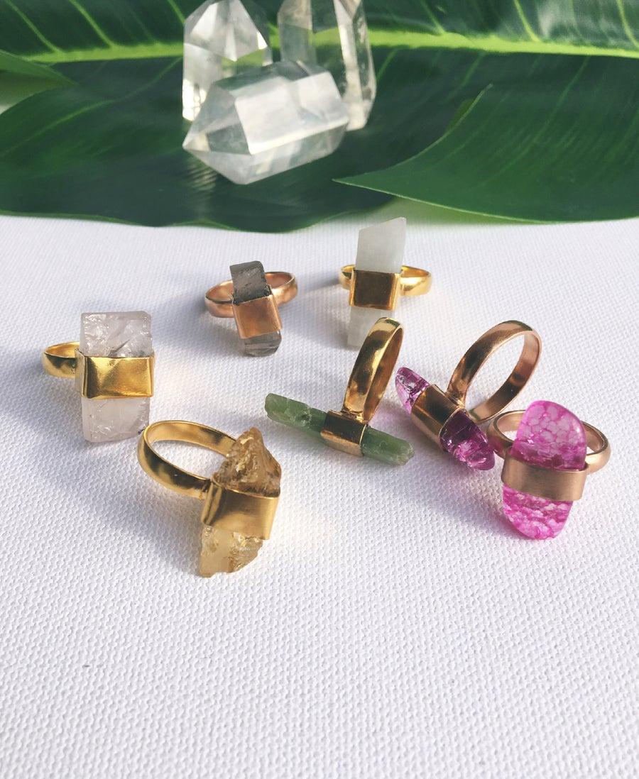 Image of SIRIUS Bullets • Crystal Rings