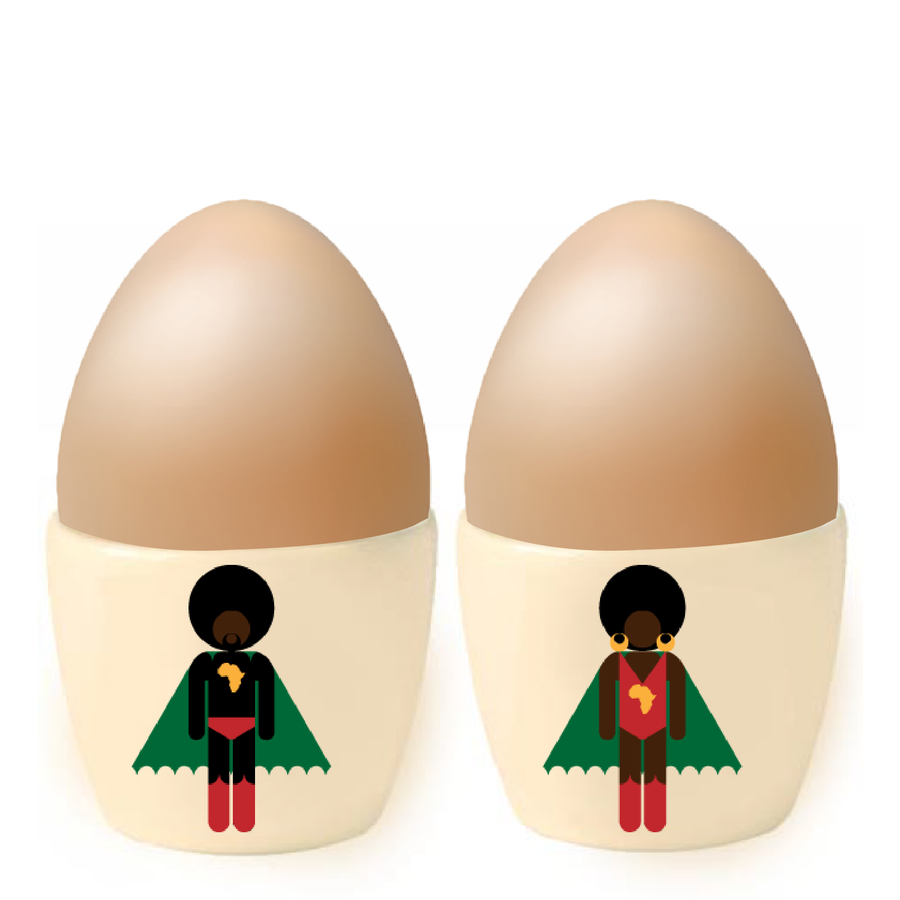 Image of AFRO SUPA® TWINS TOTS
