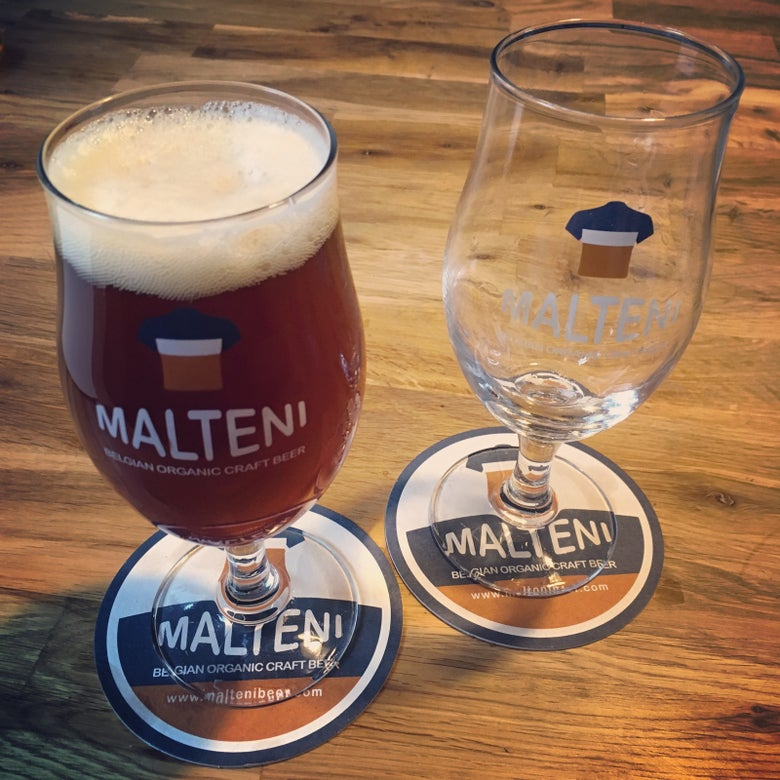 Image of Malteni tulip glass 33cl