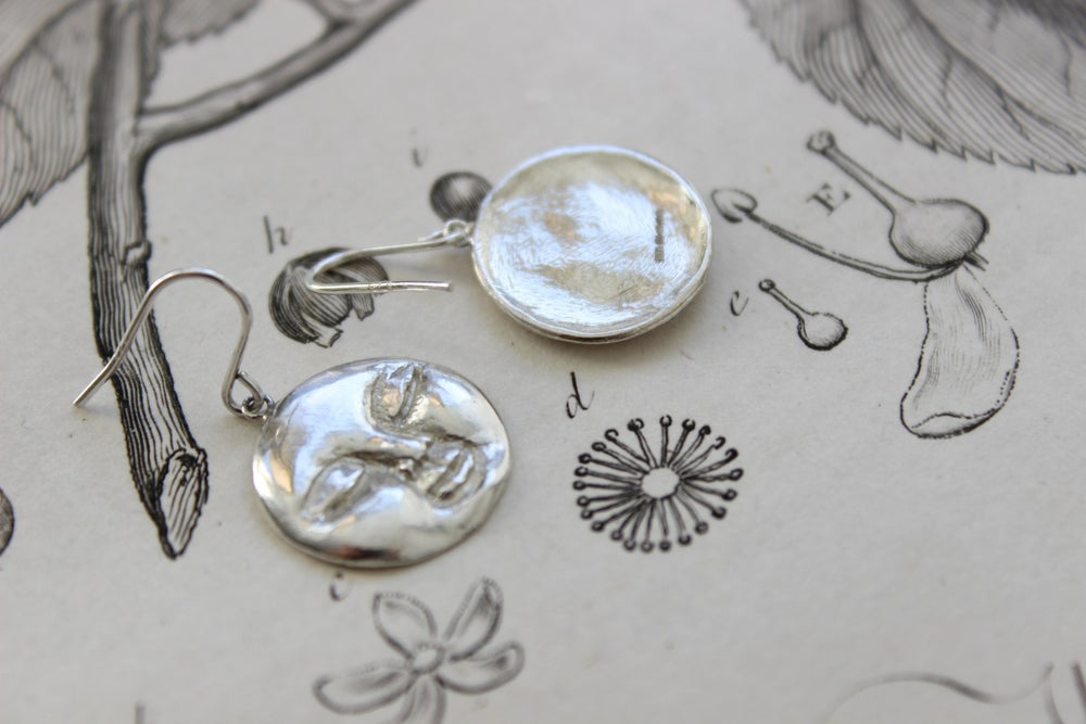 Image of *NEW* full moon earrings