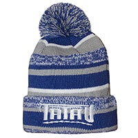 Image of Tatau New Era Sideline Beanie Royal White