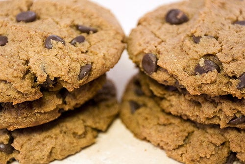Image of peanut butter chocolate chip cookie heaven
