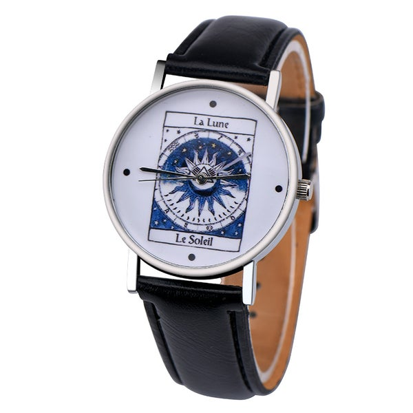 Image of Moon and Sun Tarot Card Watch