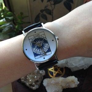 Image of Moon and Sun Tarot Card Watch