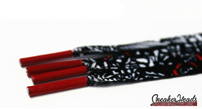 """Image of Exclusive """"Samurai"""" LE Custom Laces"""