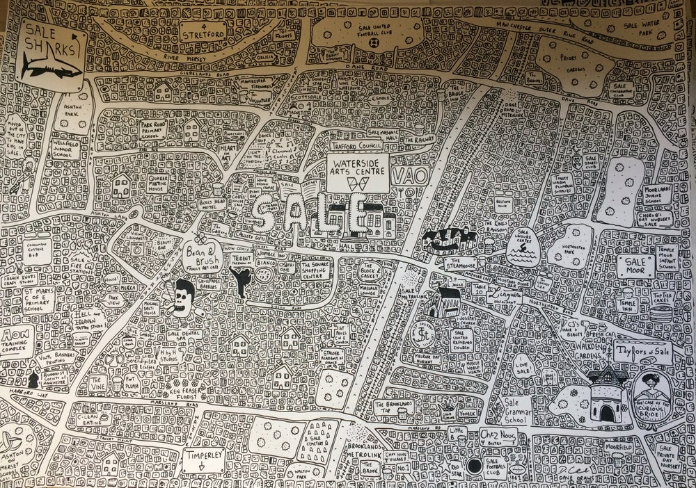 Image of Sale Doodle Map