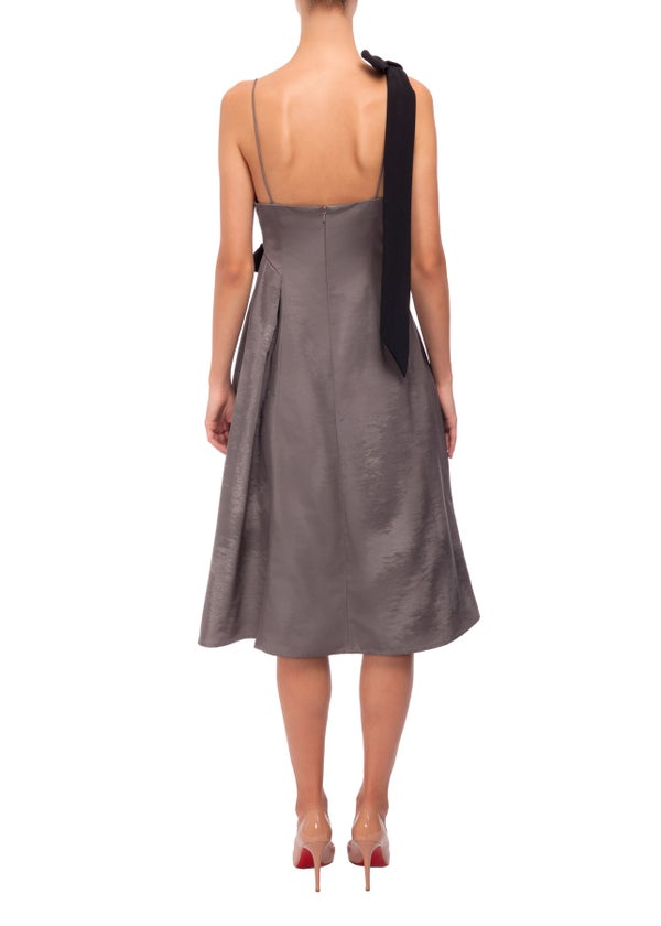 Jasmin Dress (Grey)  - Melissa Bui