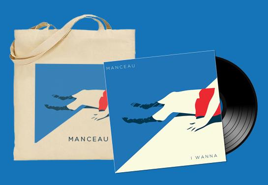 Image of I Wanna album Vinyl + Tote Bag