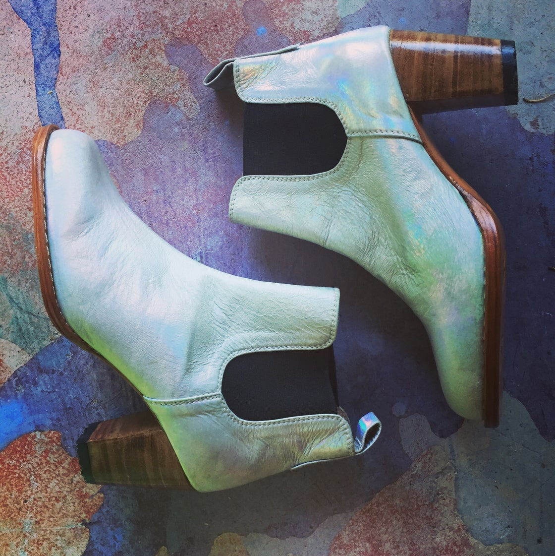 Image of MARYLOU BOOTS - Holographic