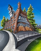 Image of Firehouse Grill Open Edition Giclee