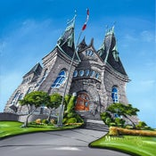 Image of Nanaimo Courthouse Open Edition Giclee