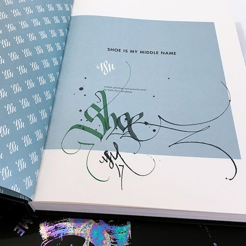 Image of 4 signed books by Niels Shoe Meulman