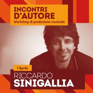 Image of Incontri d' autore - Riccardo Sinigallia // Workshop di Produzione Musicale
