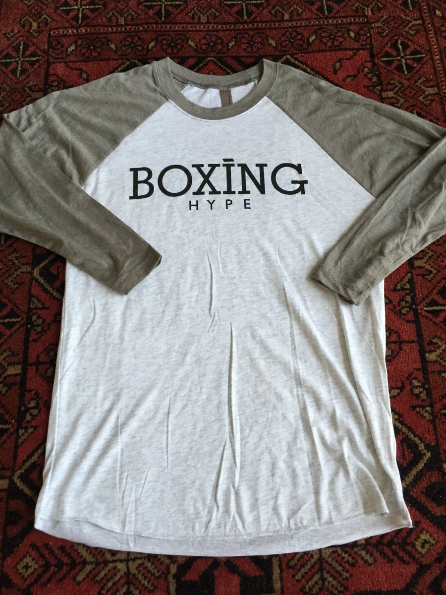 Image of Mens BoxingHype 3/4 Baseball Tees