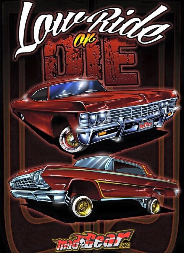 """Image of """"LowRide Or Die"""" T-Shirt"""