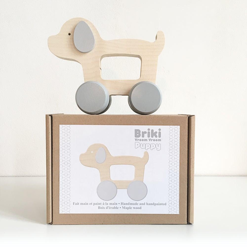 Image of Chien en bois - Puppy