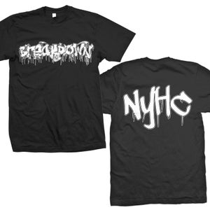 "Image of BREAKDOWN ""Drago Logo 87 NYHC"" T-Shirt"