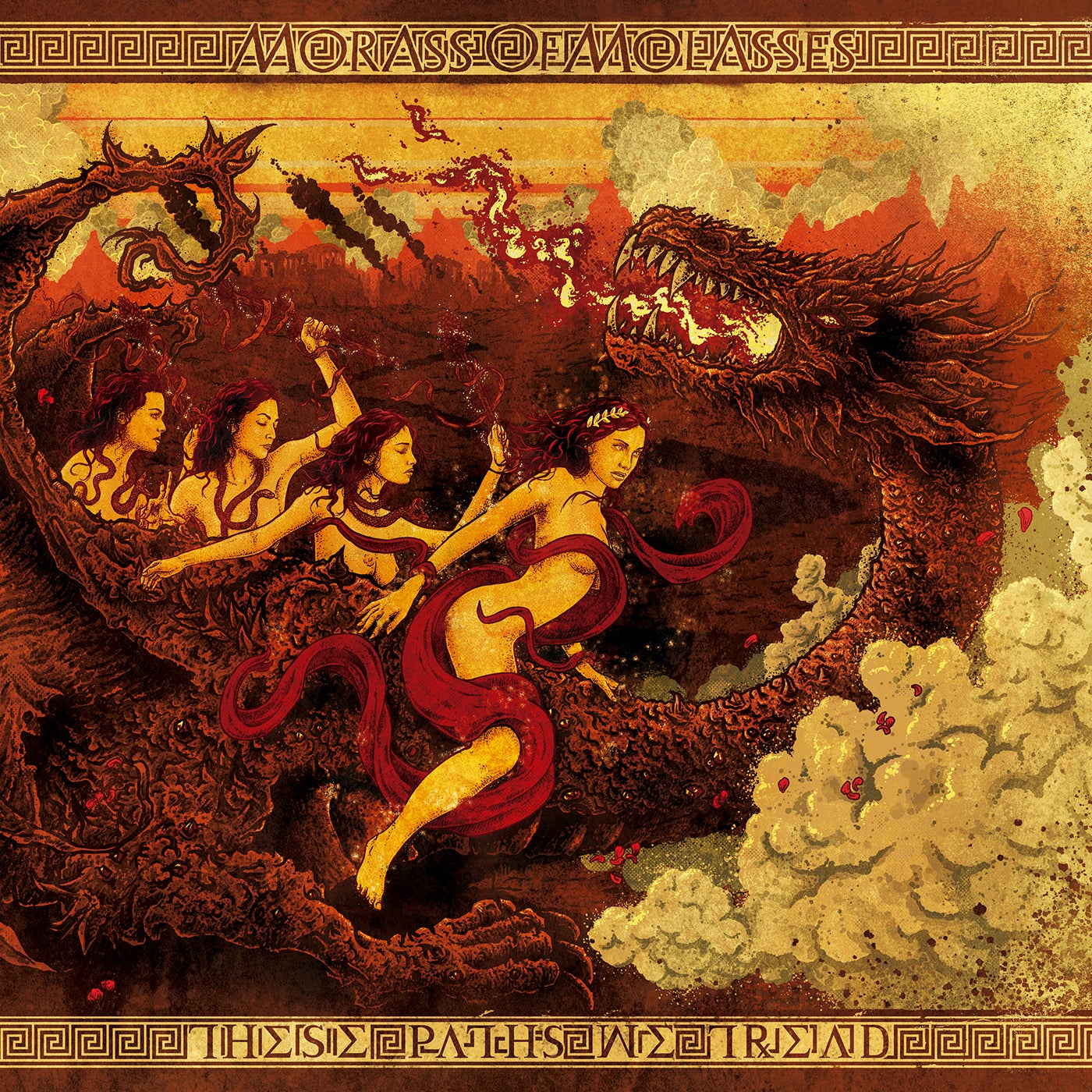 Image of Morass of Molasses - These Paths We Tread [LP]