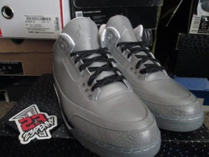 "Image of Air Jordan III (3) Retro ""5Lab3: Silver"""