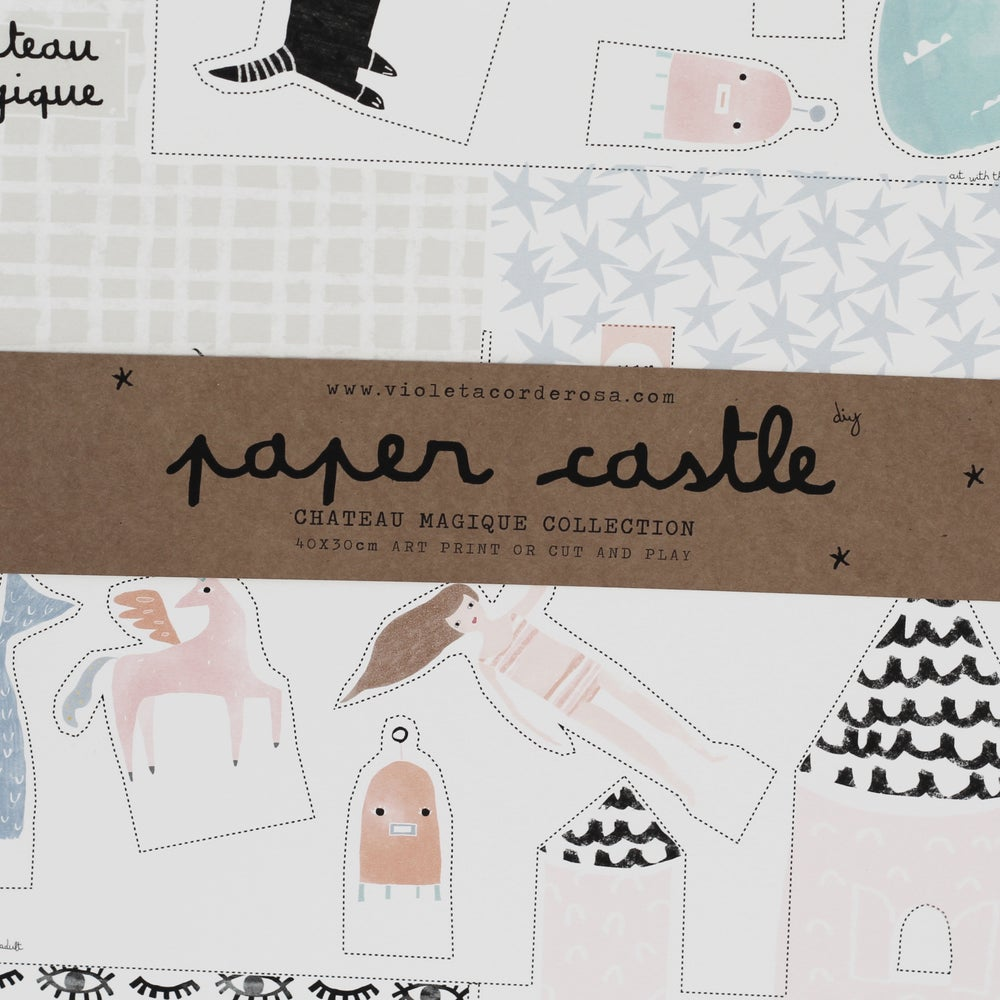 Image of PAPER CASTLE (interlocking)