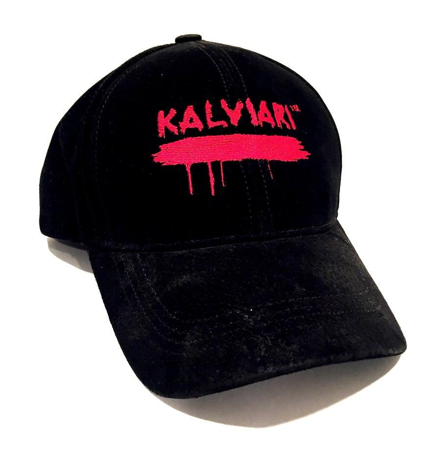 Image of KALVIARI SIGNATURE BLOODLINE BLACK SUEDE DADHAT