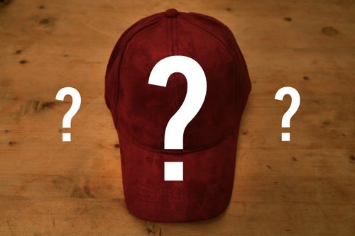 Image of Mystery Suede Cap!