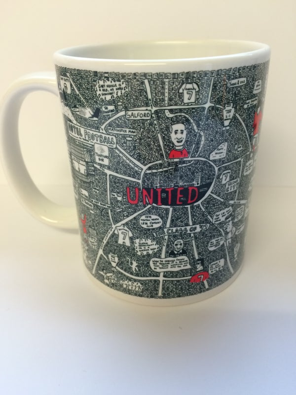 Image of United Doodle Map Mug