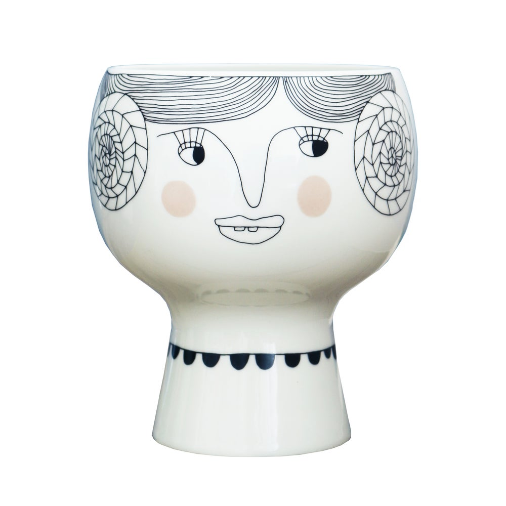 Image of Flower Me Happy Pot - Vera