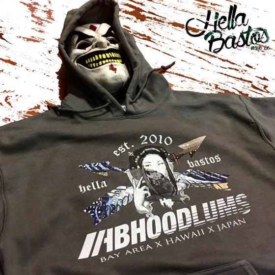 Image of HB Hoodlum S#iT  Geisha Hooded Sweater