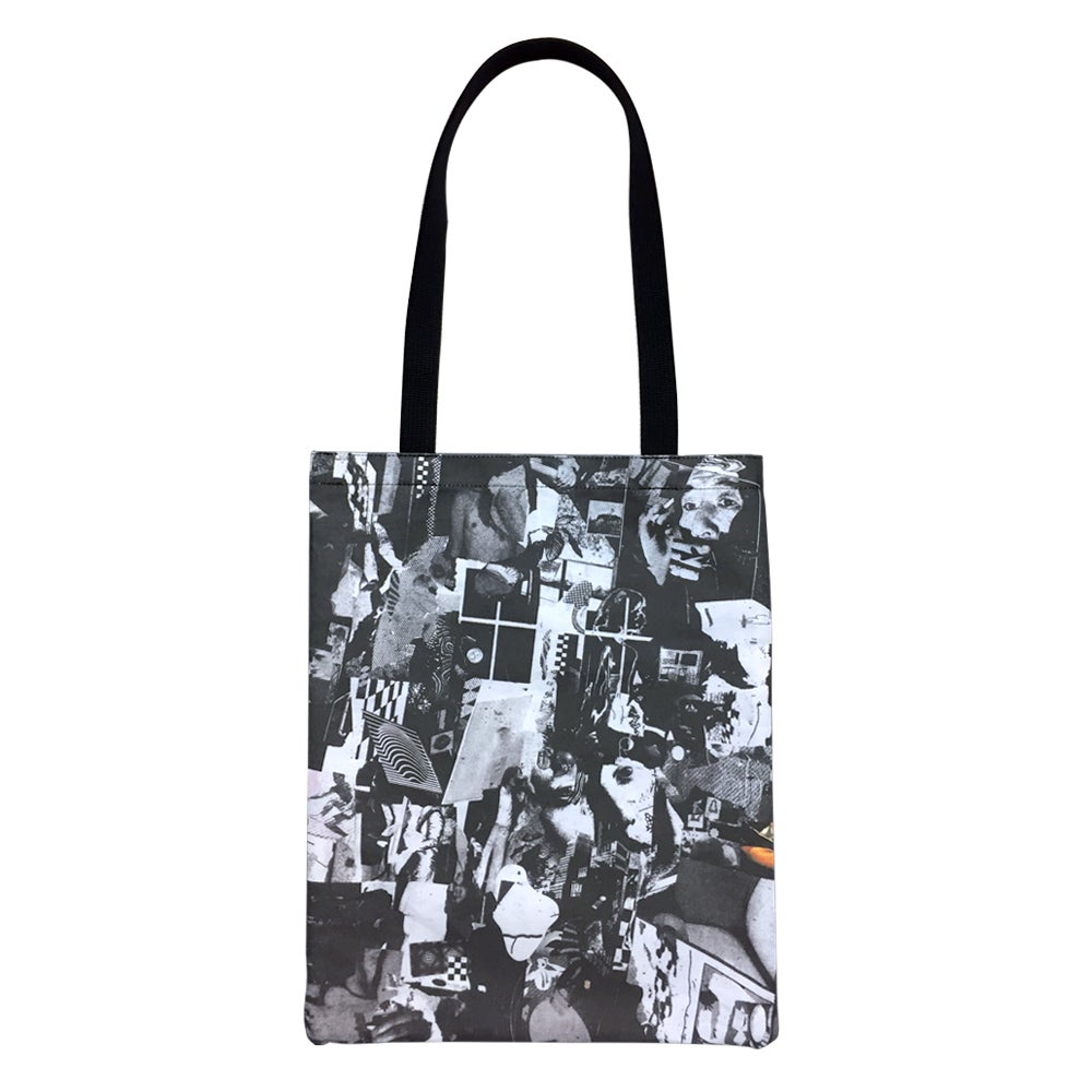 """Image of Vinnie Smith × Jen Shear """"1-800 WHO OOPS"""" - Tote Bag"""